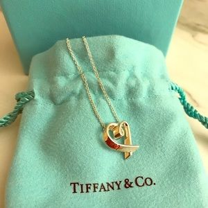 PRICE IS FIRM •••••Authentic Loving Heart Necklace